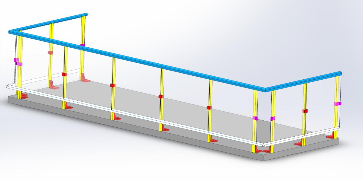 2020 – Designing new balcony railing system for condominium